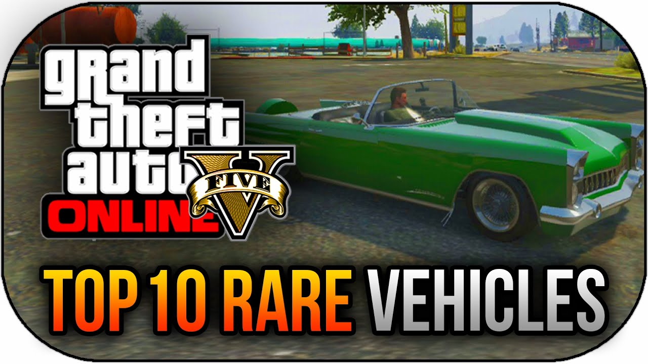 GTA 5 - Top 10 Rare & Secret Storable Vehicles in GTA 5 Online (Best ...