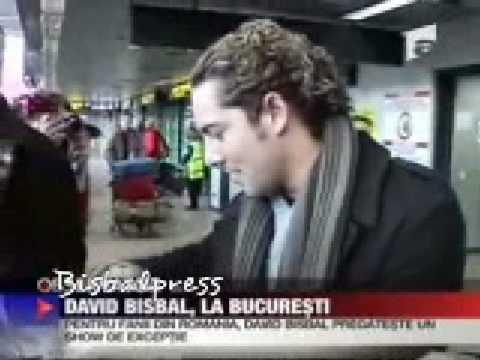 Antena 1 Tv  -David Bisbal a Bucurest, Rumanía