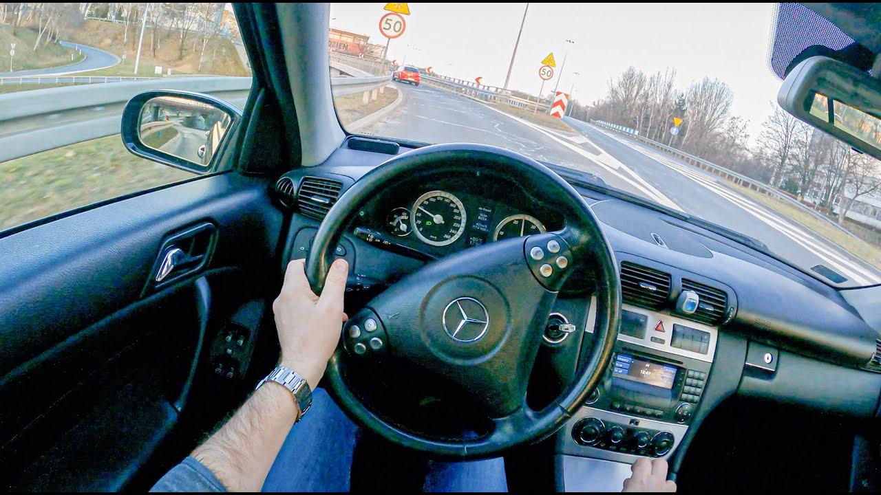 2006 Mercedes-Benz C Class 150 HP | POV Test Drive #737 Joe Black