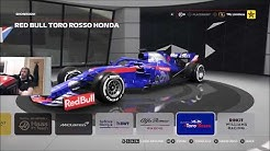 Playing F1 2019 For The First Time