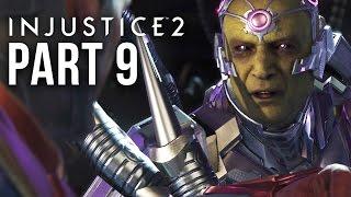 INJUSTICE 2 STORY MODE Gameplay Walkthrough Part 9 - Chapter 11 - BATMAN & SUPERMAN vs BRAINIAC