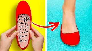 AWESOME SCHOOL HACKS || Funny Hacks and DIYs Every School Girls Must Know by 123 GO! SCHOOL