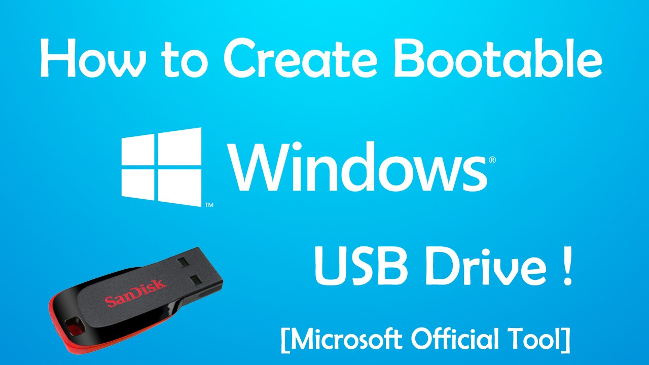 Top 5 Bootable USB Tools For Windows Operating System