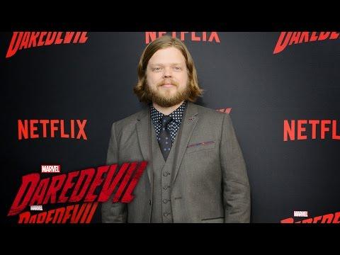 Elden Henson on Foggy  Marvel's Daredevil Season 2 Red Carpet