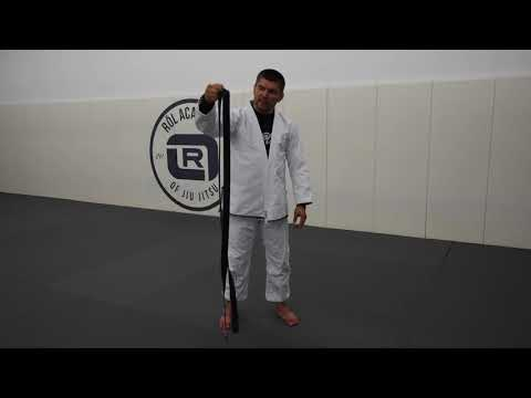Most important lesson in Jiu Jitsu - How To Tie Your Belt