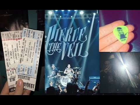 My Experience At A Pierce The Veil Concert +Photo's/Videos