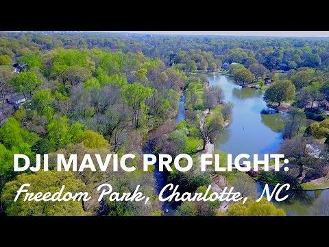 Dji Mavic Pro Flight: Freedom Park, Charlotte NC