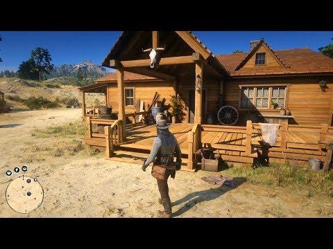 Red Dead Redemption 2 - John Marston's House & Farm Tour Shown - Open World Free Roam Gameplay