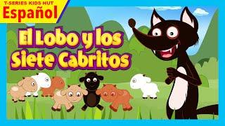 El Lobo y los Siete Cabritos - historias español | El lobo y la historia de siete cabritas completa thumbnail
