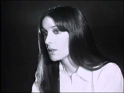 Marie Laforêt - Calor la vida / Interview / Requiem pour trois mariages dans Discorama 1968