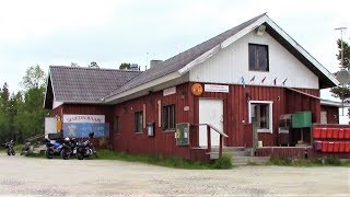 Sevettijärvi Sevetin baari Inari Finland