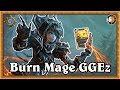 Hearthstone Burn Mage Says GGEz mp3