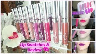 Colour Pop Ultra Matte Liquid Lipsticks!! Lip Swatches & Review!