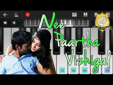 Nee paartha vizhigal keyboard notes