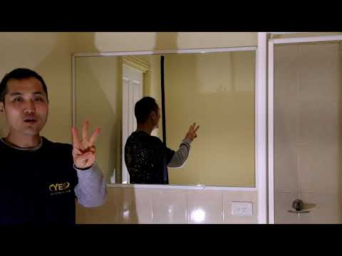 how to clean a mirror without streaks