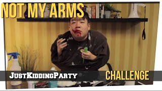 Not My Arms Challenge ft. David So & Gina Darling