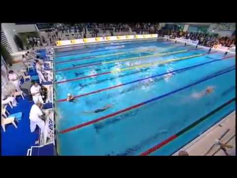 Interview de la triple m daill e olympique de natation for Piscine olympique nice