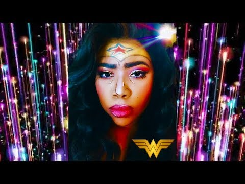 WONDER WOMAN Makeup Tutorial| Makeup Transformation Comic/Popart