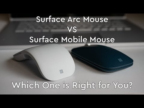 Surface Arc Mouse VS Surface Mobile Mouse Review: Which Is Better?