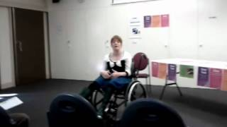 """""""Women with Disabilities need pap smears too"""" launch at DIRC on 11th May 2012"""