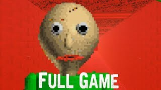 Baldi's Basics in Education and Learning Full Game & ENDING Gameplay  (Free indie horror Game)