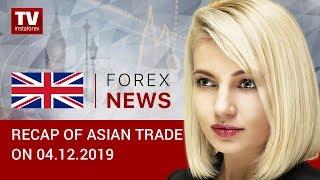 InstaForex tv news: 04.12.2019: US-China trade dispute escalates, market sentiment worsens (USDX, USD/JPY, AUD/USD)