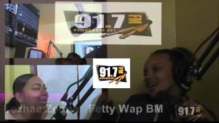 Gems Radio Dashow interview Lezhae Zeona the mother of fetty wap daughter  Short version