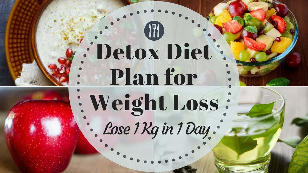 Detox Diet Plan for Weight Loss | How to Lose Weight Fast ...