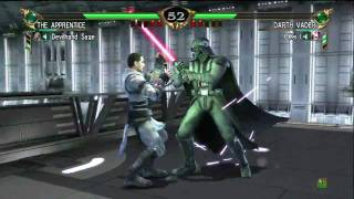 Soul Calibur IV: The Dark Side Unleashed - The Apprentice vs Darth Vader (Please Read Descripton)