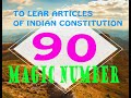 Easy way to learn Articles of Indian Constitution- Kerala PSC Basics- Malayalam