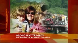 Mom's Drunken Wrong-Way Drive