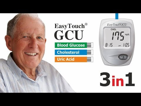 Glucometer | Highest Accuracy | 3 in One | Easy Touch Meter | Diabetes