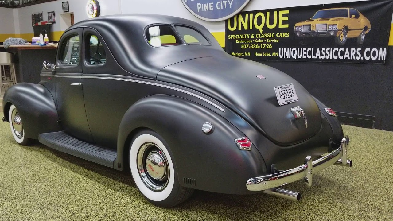1940 Ford Coupe Street Rod for sale - YouTube