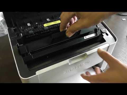 Samsung Xpress M2022 nyomtató toner cseréje a Patronbirodalom segítségével