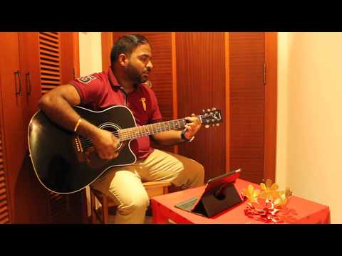 Visiri - Enai Noki Paayum Thota I Darbuka Siva I Guitar Cover By Prithvi Acoustic  With Basic Chords