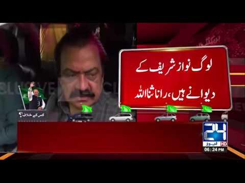 People Love For Nawaz Sharif Is Unmatched Says Rana Sanaullah