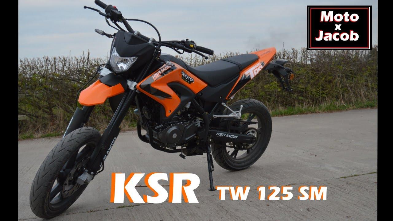 ksr tw 125 sm new bike reveal youtube. Black Bedroom Furniture Sets. Home Design Ideas