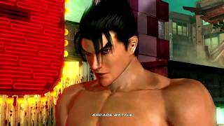 Tekken 6 (Xbox 360) Arcade Battle as Jin