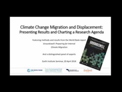 Groundswell Report--Seminar on Climate and Migration