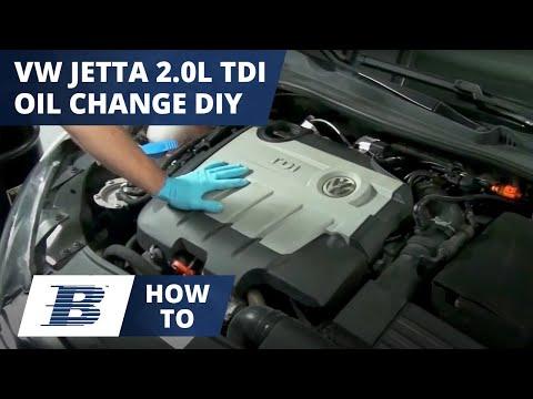 How To Change VW Jetta Oil & Filter 2.0 TDI