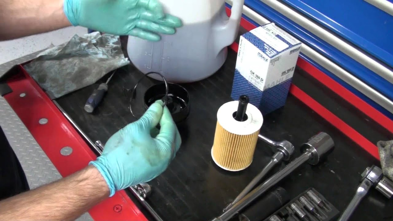 How To Change VW Jetta Oil & Filter 2.0 TDI - YouTube