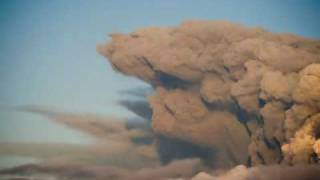 Islandia nube de cenizasde Volcán Eyjafjallajokull
