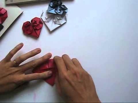 Cách gấp trái tim bằng giấy