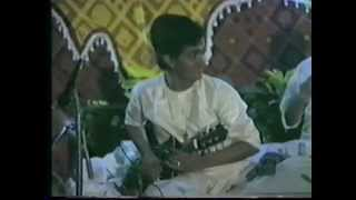 Mandolin Srinivas 1989 private concert-Genius Artist