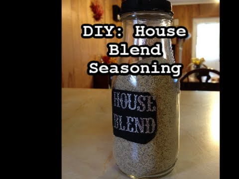 DIY:House Blend seasoning