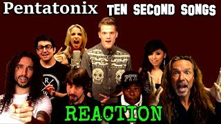 Vocal Coach Reacts To Pentatonix and Ten Second Songs - History Of Rock - Ken Tamplin