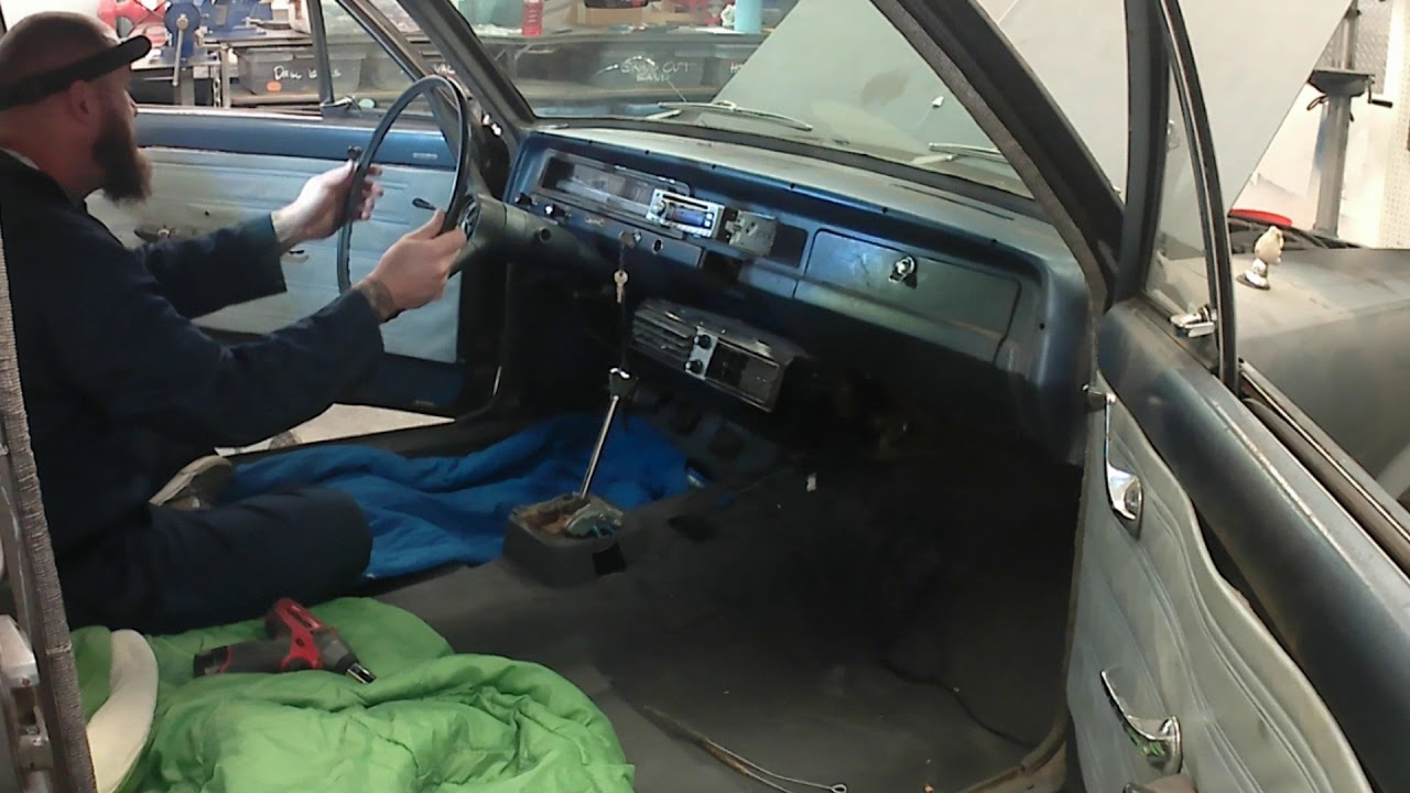 Installing A Kwik Wire Harness In 1966 Amc Rambler Rays Rusty C10 Wiring Install After Part 7 All Done