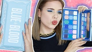 OMG JEFFREE STAR BLUE BLOOD PALETTE TESTEN! | Kristina K ❤