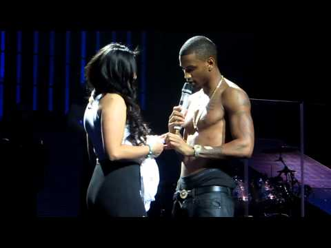 Trey Songz and Fan Vanessa Mejia!!!!!