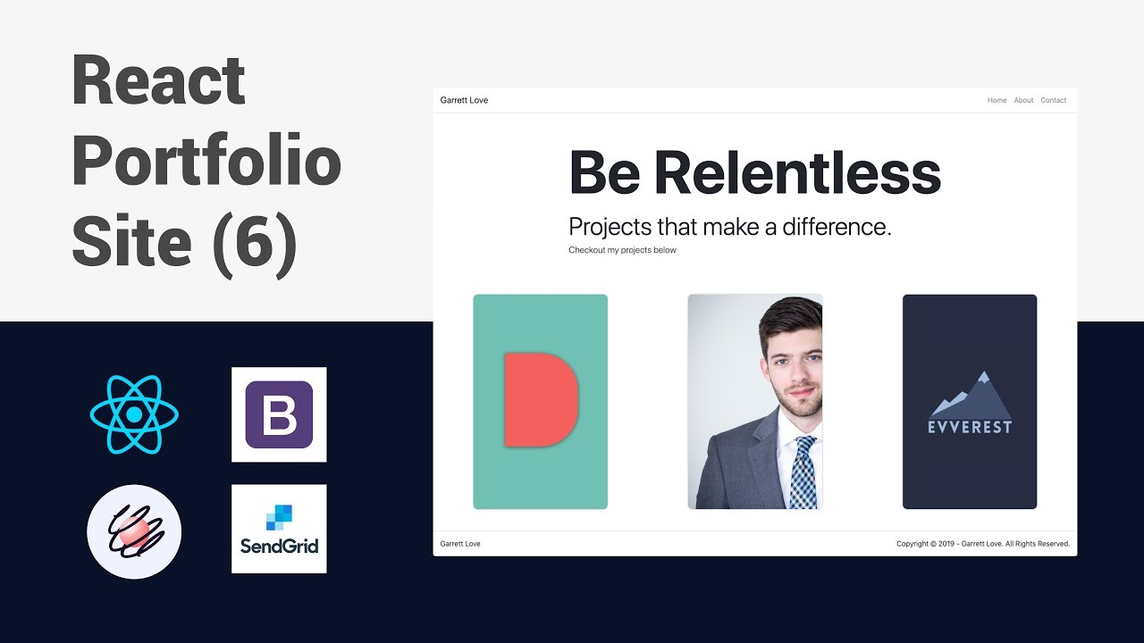 Building a Portfolio Website with React - Carousel Component | Part 6